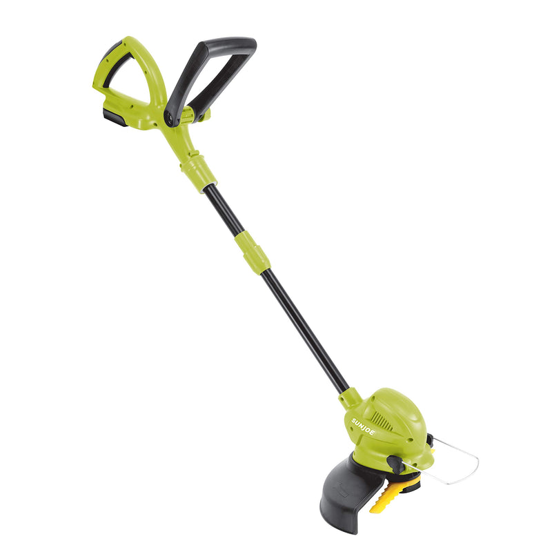 Sun Joe 24V-SB10-CT 24-Volt iON+ Cordless SharperBlade Stringless Lawn Trimmer | 10-Inch | Tool Only