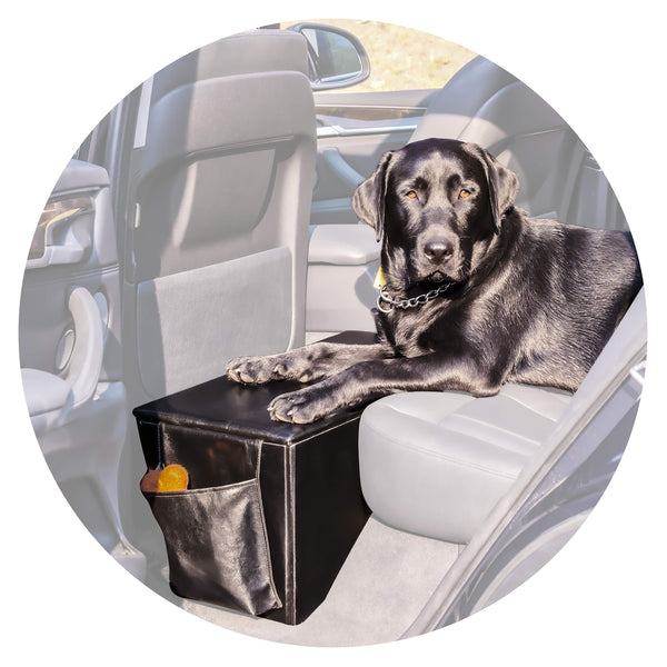 Enchanted Home Pet Orthopedic Sturdy Backseat Extender with Storage