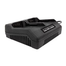 Snow Joe + Sun Joe iCHRG40-DPC EcoSharp® Lithium-Ion Battery Dual Port Charger | 40 Volt