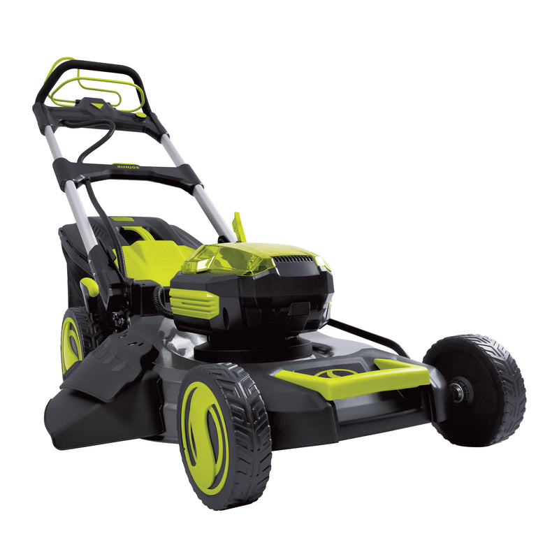 Sun Joe iON100V-21LM-CT Lithium-iON Cordless Self Propelled Lawn Mower | 100 Volt | Core Tool Only (No Battery + Charger)