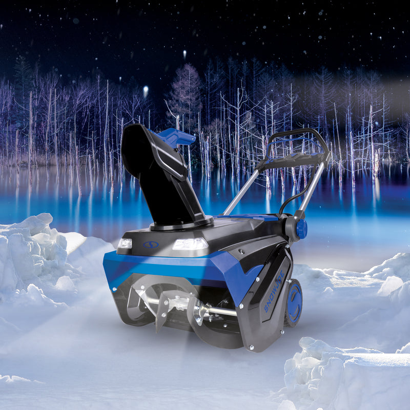 Snow Joe iON100V-21SB-CT Brushless Lithium-iON Cordless Variable Speed Single Stage Snowblower | 21-Inch | 100-Volt | No Battery + Charger
