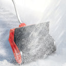 Snow Joe iON13SS-LTE-HYB-RED Hybrid Cordless and Electric Cordless Snow Shovel | 40V | 2.0 Ah | 13-Inch (Red)