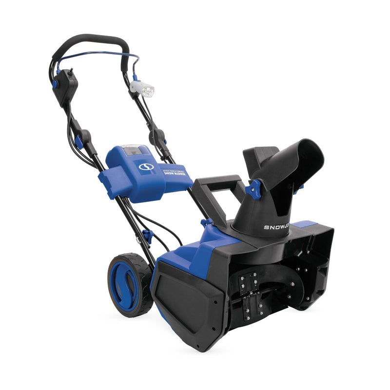 Snow Joe BDL-iON-WWB Cordless Single Stage Snow Blower Bundle | 18-Inch | 4 Ah Battery | Brushless