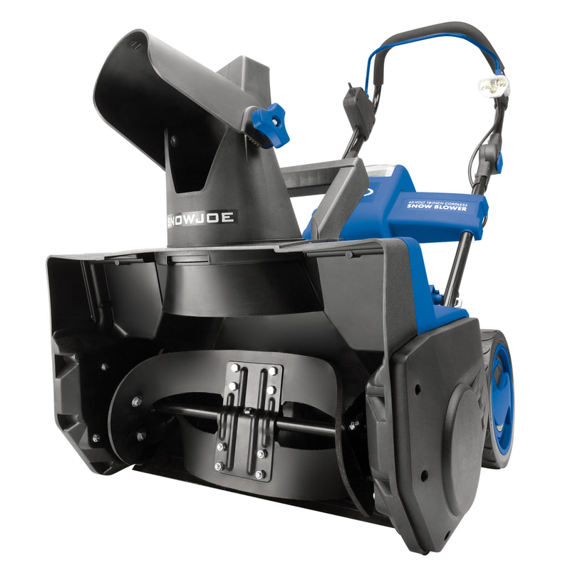 Snow Joe iON18SB-CT Cordless Single Stage Snow Blower | 18-Inch | 40 Volt | Brushless (No Battery + Charger)