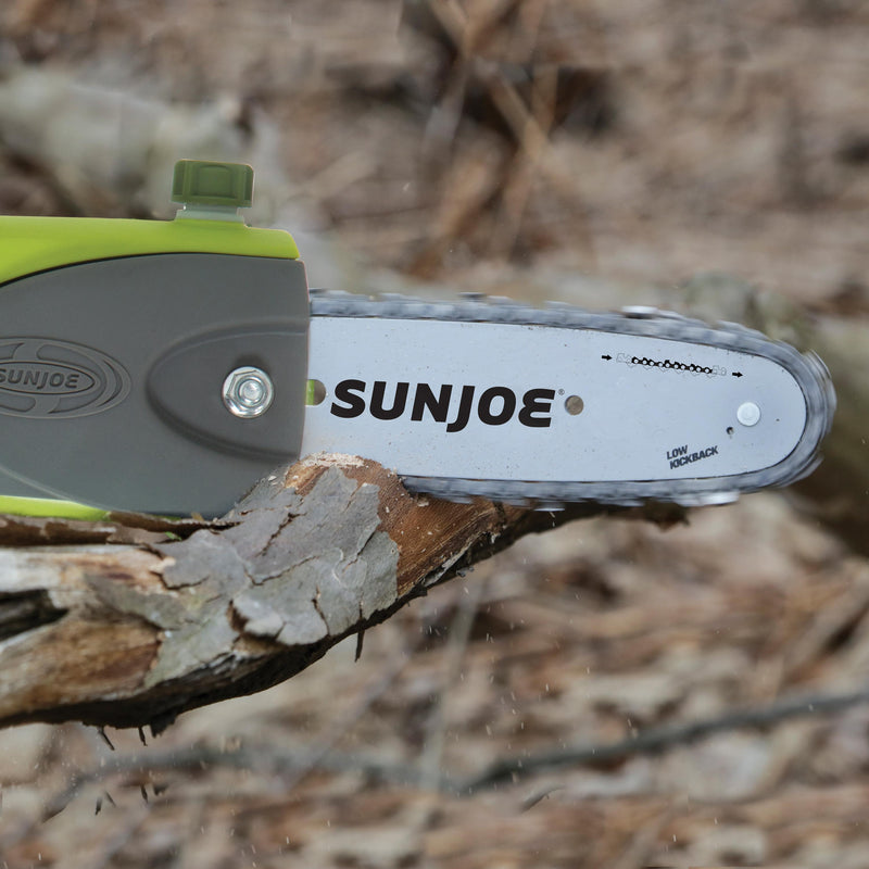 Sun Joe iON8PS2-LT Cordless Multi-Angle Pole Chain Saw | 8 inch | 40V | 2.5 Amp