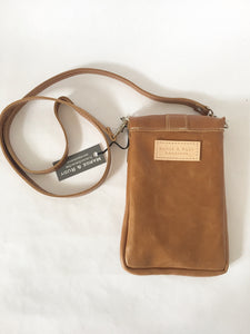 DAKOTA Leather Crossbody Bag