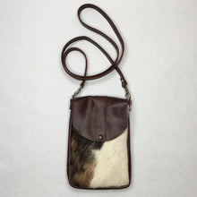 Load image into Gallery viewer, DAKOTA Cow Hide Crossbody Bag | Tri-Color