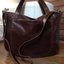 Load image into Gallery viewer, URSULA Leather Bag |  Removable Crossbody Strap