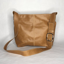 Load image into Gallery viewer, MESSENGER Bag | Aged Rattan Leather with Cowhide