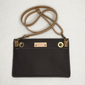 RRR Leather Crossbody Bag | Clutch | Fanny Pack