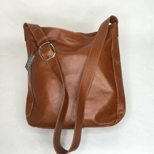 Leather Tote | Chestnut