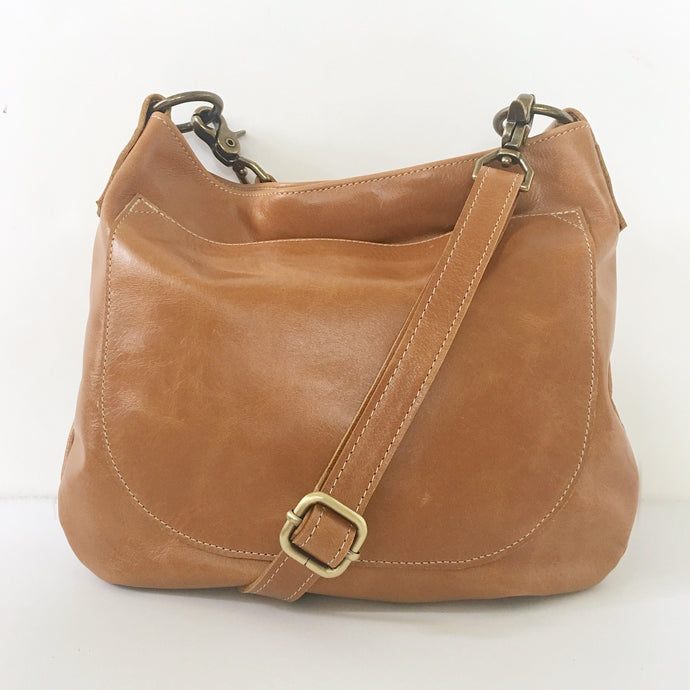 UKSANA Small Leather Crossbody Bag