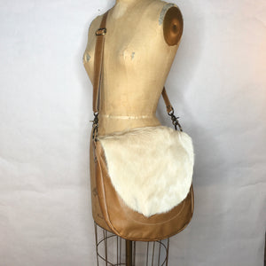 Cowhide | Leather Crossbody Bag | One of a Kind