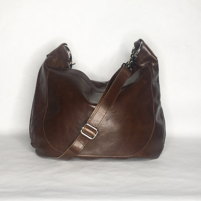 Marge Rudy Handmade UMA Leather Hobo Bag