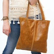 Load image into Gallery viewer, Marge Rudy Handmade Leather AVERY Tote