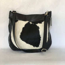 Load image into Gallery viewer, Marge Rudy Handmade UMA Cowhide Hobo Bag