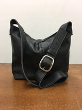 Load image into Gallery viewer, Marge Rudy Handmade Leather MESSENGER Bag Black