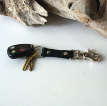 Load image into Gallery viewer, Marge Rudy Handmade Leather Key Chain Swivel Lobster Clasp