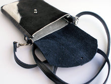 Load image into Gallery viewer, DAKOTA Cow Hide Crossbody Bag  Hair on Hide  Leather