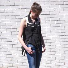 Load image into Gallery viewer, Marge and Rudy Dakota Hide Crossbody handmade leather