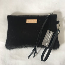 Load image into Gallery viewer, Marge Rudy Handmade Cowhide Leather Wristlet NC