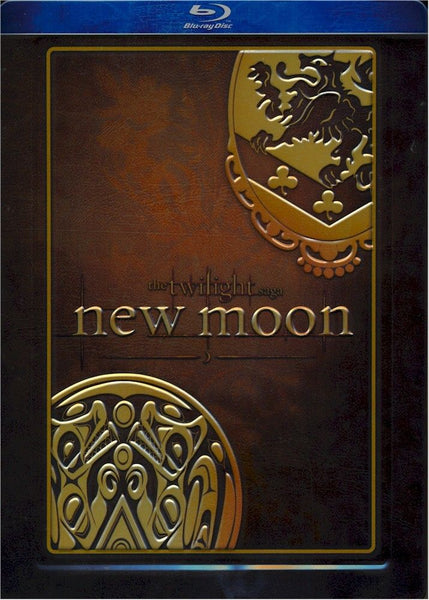 The Twilight Saga: New Moon (Blu-ray disc, 2010, Steelbook Special Edition)