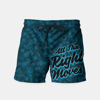 Virgin Teez All The Right Chess Moves Shorts