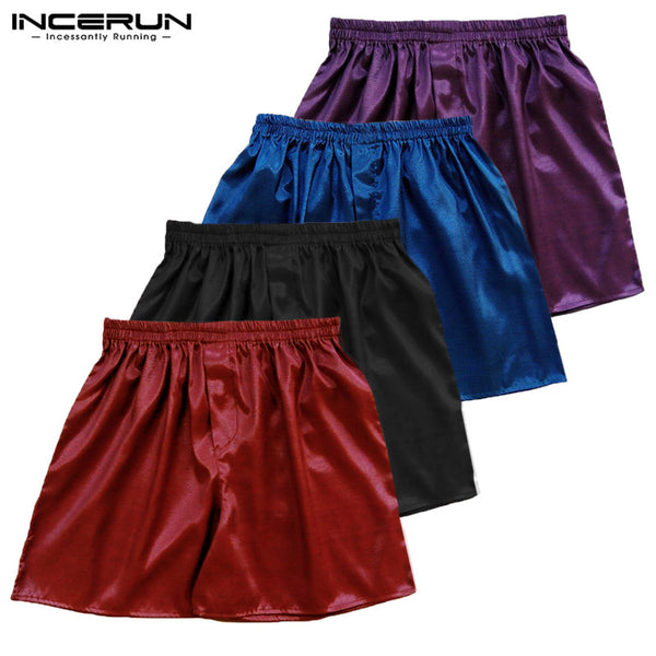INCERUN Silky Satin Men's Boxers