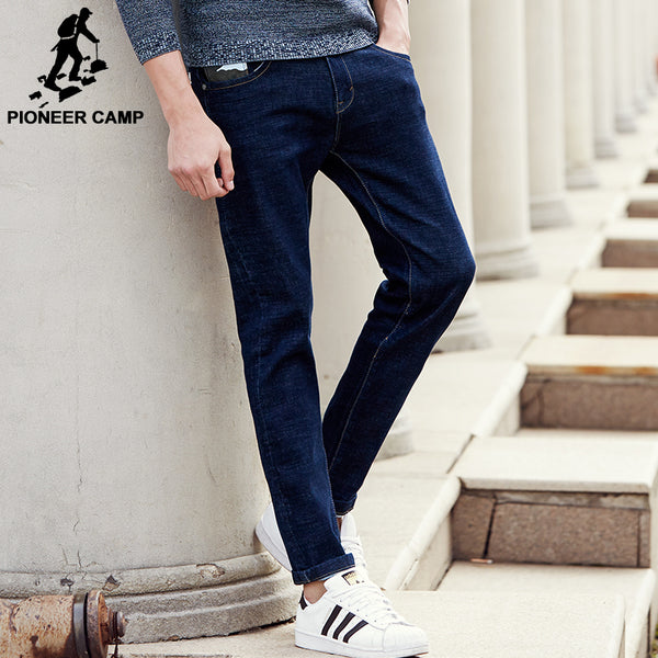 Pioneer Camp Straight Denim Causal Men's Blue Jeans