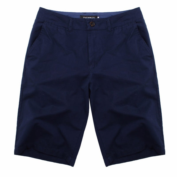 Incerun Casual Men's Chino Shorts (2018)
