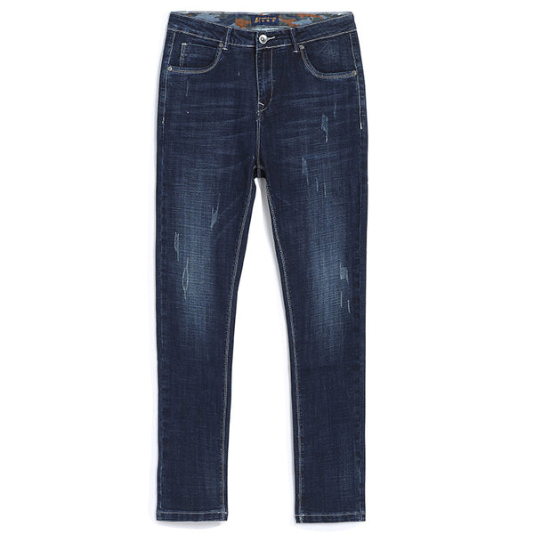 Pioneer Camp Stretch Straight Denim Casual Men's Jeans