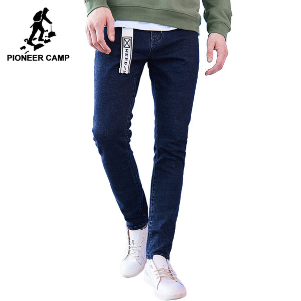 Pioneer Camp Skinny Denim Dark Men's Blue Jeans