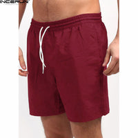 Incerun Casual Quick Drying Men's Shorts (2018)
