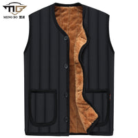 Boussac Men's V-Neck Winter Vest
