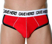 Cave Hero Men's 100% Cotton Butt Lifter Briefs