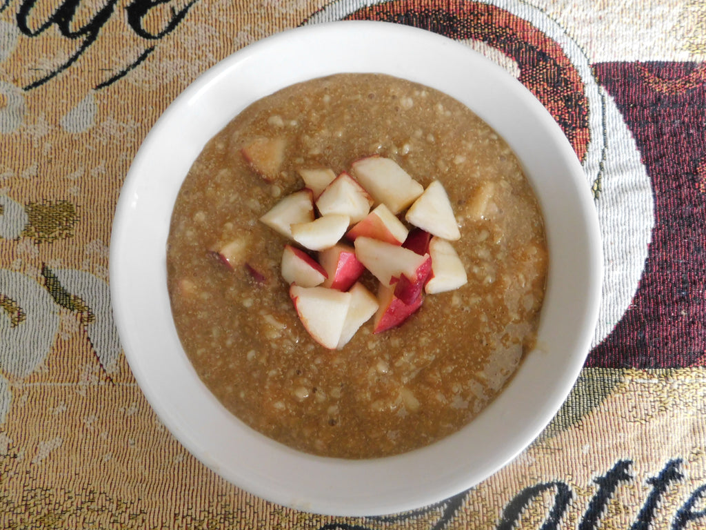 DID YOU SAY APPLE PIE PORRIDGE?