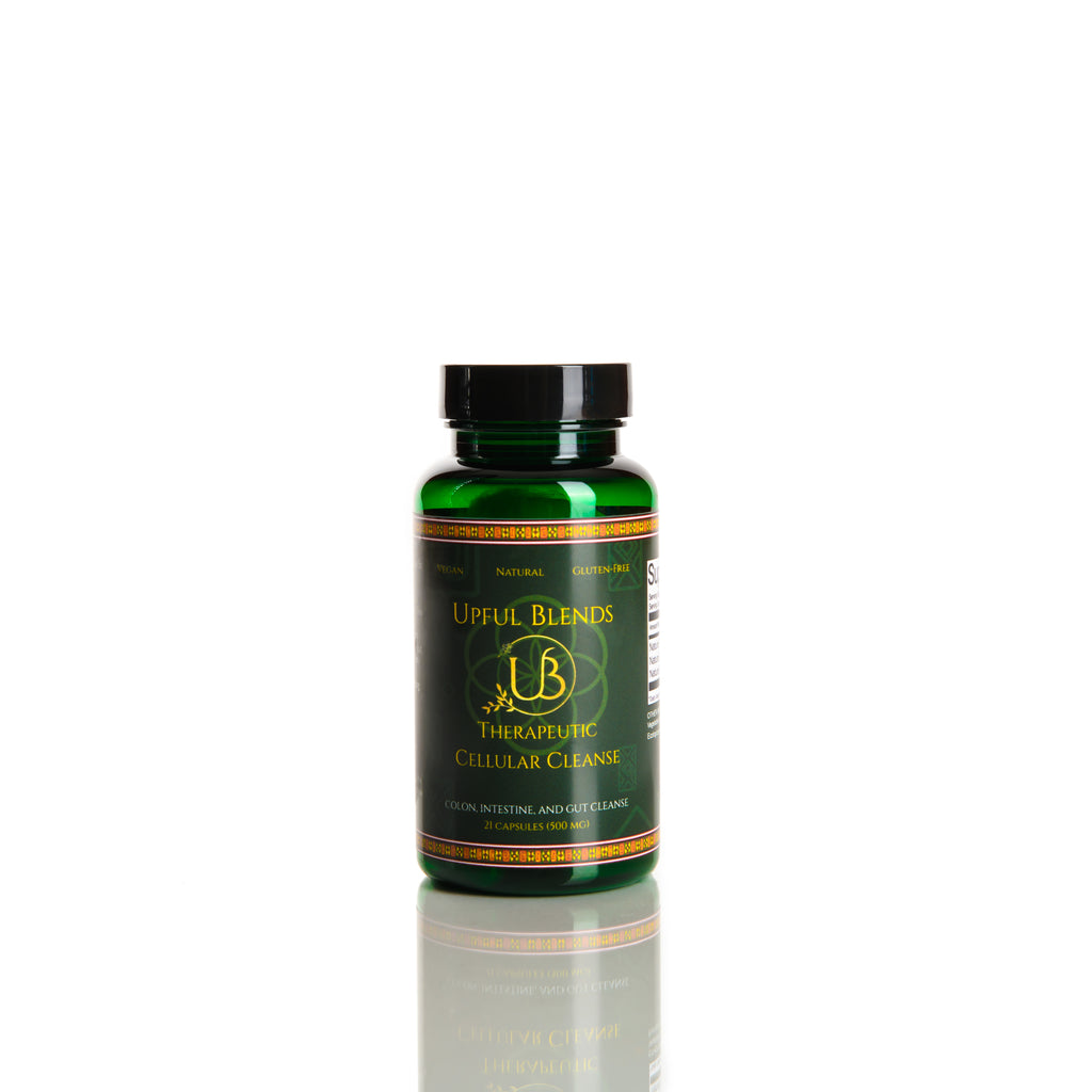 Therapeutic Cellular Cleanse Capsules - Colon & Parasites