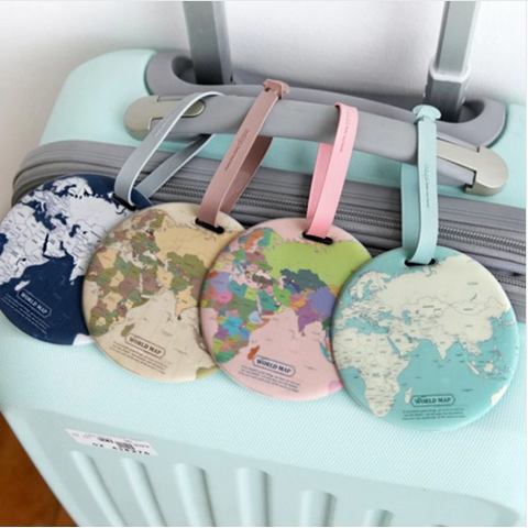 Map Luggage Tag - passportcovermarket