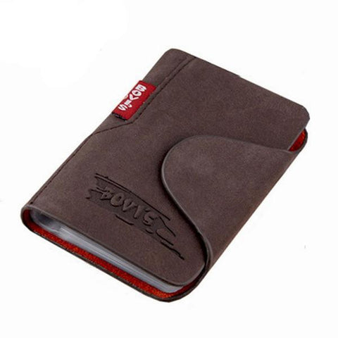 Leather Business Cards Holder - passportcovermarket