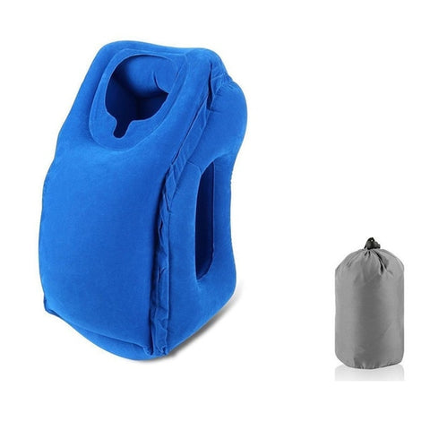 Travel Pillow Air Soft Cushion Trip - passportcovermarket