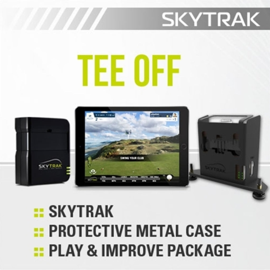 SkyTrak Tee Off Package