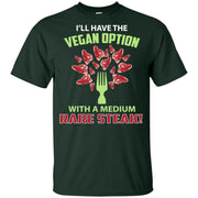 Vegan With Steak - Ultra Cotton Youth T-Shirt
