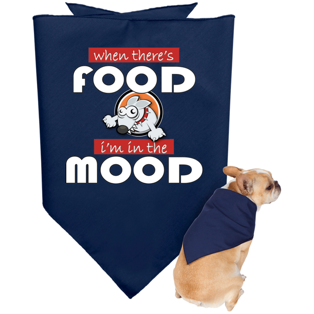 Food Mood Doggie Bandana