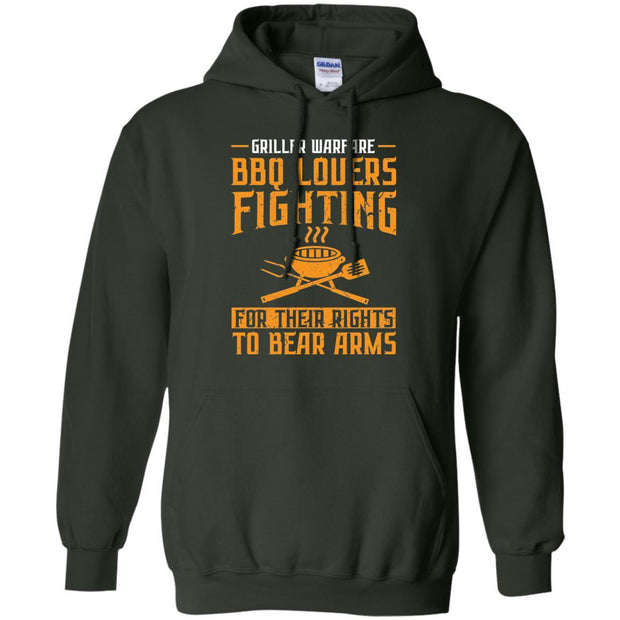 Griller Warfare Pullover Hoodie Double Side