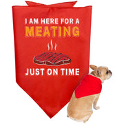 Meating Time Doggie Bandanas