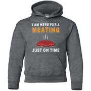My Meating Gildan Youth Pullover Hoodie