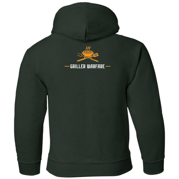 Griller Warfare Youth Pullover Hoodie