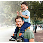 Hands-Free Child Shoulder Carrier Seat