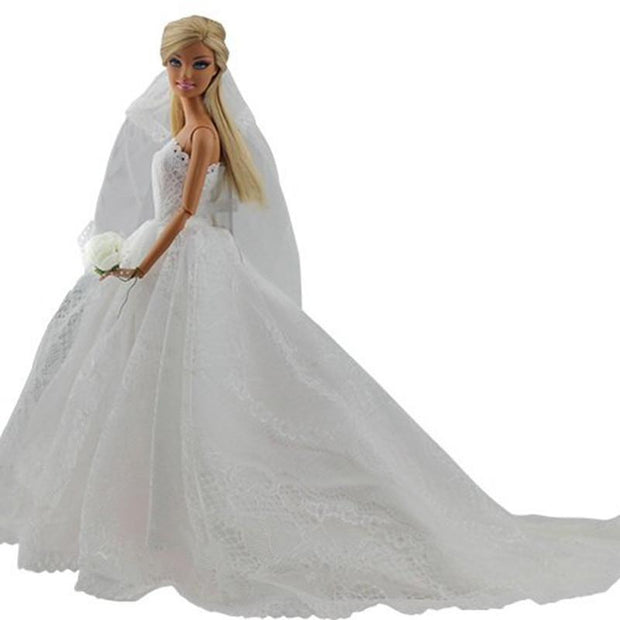 Wedding Dress for Barbie Doll | Ten Big Ones