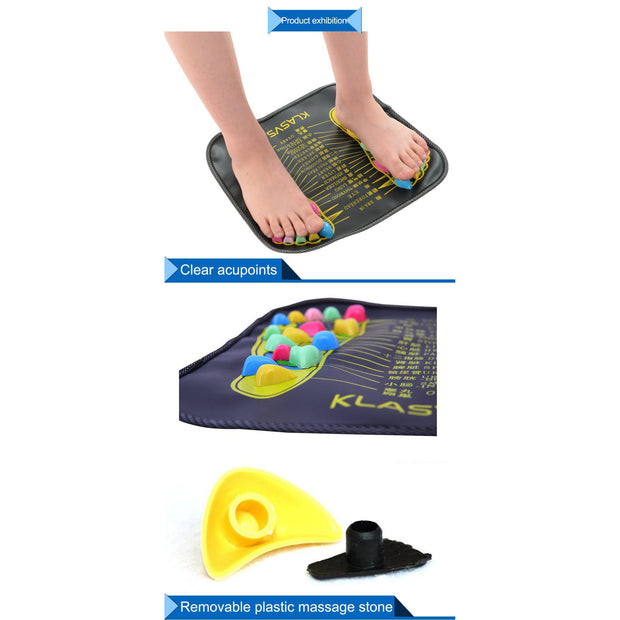 Reflexology Stone Massage Mat | Ten Big Ones